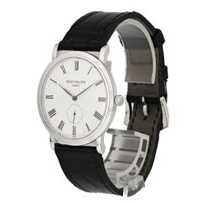 Patek Philippe Calatrava 5119G-001 White Gold Mens Watch