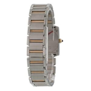 Cartier Tank Francaise 2384 MOP Dial Ladies Watch
