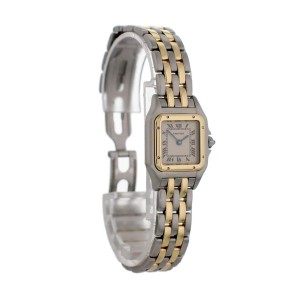 Cartier Panthere Two Row 1120 Ladies Watch