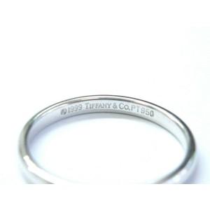 Tiffany & Co Lucida Platinum Wedding Band Ring Size 5.25