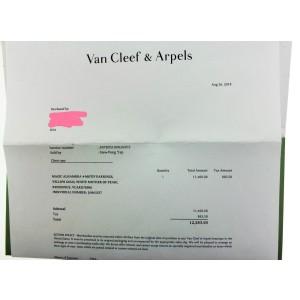 Van Cleef & Arpels Magic Alahambra 4 motif mother of pearl earrings VCARD78900