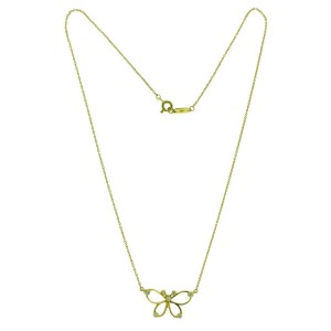 TIFFANY & CO Butterfly diamond necklace in 18k yellow gold