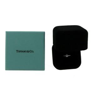 Tiffany .39 carat Lucida solitaire engagement ring in platinum