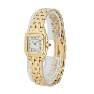 Cartier Panthere 1070 2 Yellow Gold Ladies Watch
