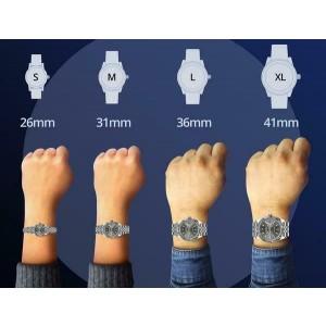 Rolex Datejust 36mm 2-Tone WATCH/3.10ct Diamond Bezel/Turquoise Roman Dial