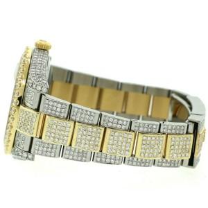 Rolex Datejust II 41mm 2-Tone 14.4ct Diamond Bezel/Lugs/Bracelet/White MOP Dial