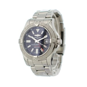 Breitling Avenger II GMT A32390 Mens Watch Box Papers