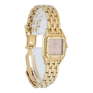 Cartier Panthere 18k Gold Ladies Watch