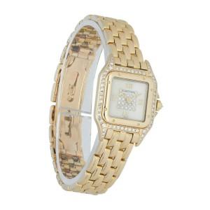 Cartier Panthere 8057915 18k Yellow Gold & Diamonds Ladies watch.