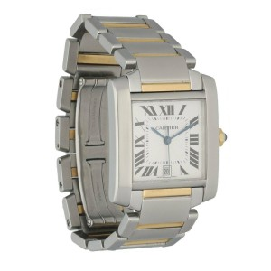 Cartier Tank Francaise 2302  Two Tone Automatic