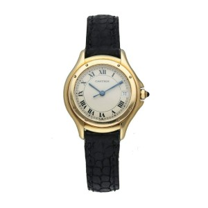 Cartier Panthere Cougar 11701  18K Yellow Gold Ladies Watch