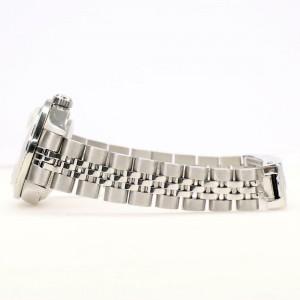 Rolex Datejust 26MM Steel Jubilee/Custom Diamond Bezel/White MOP Roman Dial