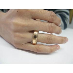 Caressa Rose Gold Diamond Band Ring Size 11 1.40Ct 18KT