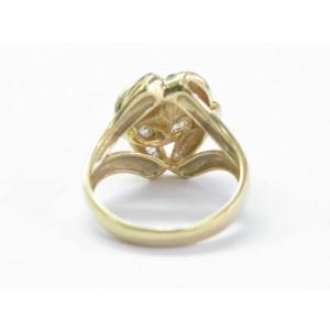 Natural Baguette Diamond Criss Cross Diamond Ring & Earrings 18Kt 2.00Ct E-F VS