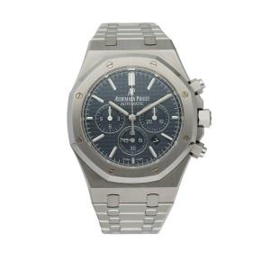 Audemars Piguet Royal Oak 26320ST Chronograph Men's Watch Box & Papers