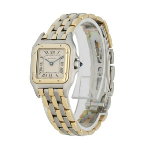Cartier Panthere 1057917 Three Row Ladies Watch