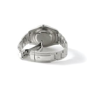 Rolex Datejust II 41mm 4.5CT Diamond Bezel/Lugs/Aquamarine MOP Dial Steel Watch