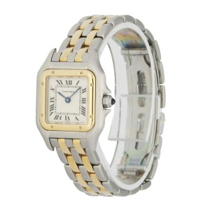Cartier Panthere 112000R Two Row Ladies Watch
