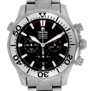 Omega Seamaster 300M Diver Chronograph Titanium Mens Watch 2293.52.00
