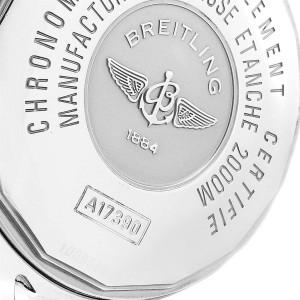 Breitling Aeromarine Superocean Steelfish Black Dial Mens Watch A17390