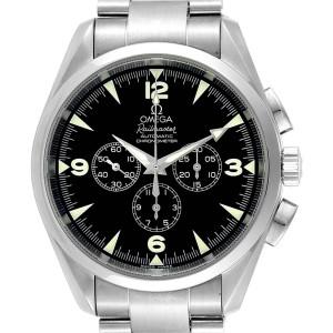 Omega Aqua Terra Railmaster Mens Chronograph Watch 2512.52.00 Card