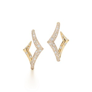Kwiat 18k Yellow Gold Earrings From The Tempo Collection