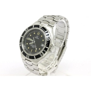 Omega Seamaster Stainless Steel 38mm Watch