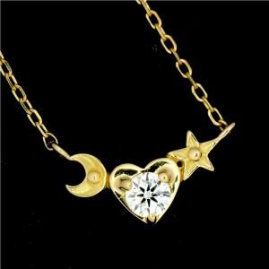 AHKAH 18k Yellow Gold Diamond Necklace