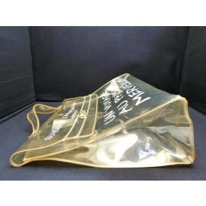 Hermès Kelly Translucent Souvenir 231153 Clear Vinyl Satchel