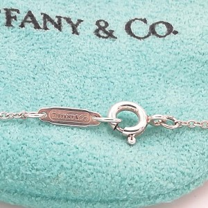 Tiffany & Co. silver fish necklace