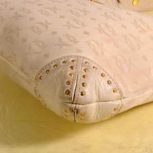 Monogam Visetos Hobo 868846 Cream Canvas Tote