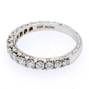 Jack Kelege KGR 1018BD 18k White Gold Diamonds Ring