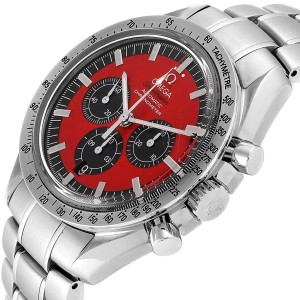 Omega Speedmaster Schumacher Legend Red Limited Edition Watch 3506.61.00
