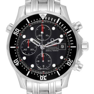 Omega Seamaster 300M Chronograph Black Dial Watch 213.30.42.40.01.001