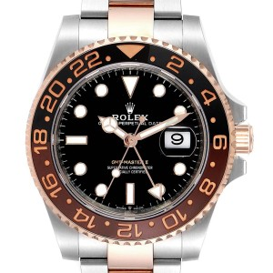 Rolex GMT Master II Steel Everose Gold Mens Watch 126711 Unworn