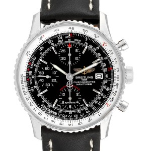 Breitling Navitimer Heritage Black Dial Mens Watch A13324 Box Papers