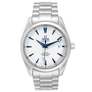 Omega Seamaster Aqua Terra Blue Hands Steel Mens Watch 2503.33.00