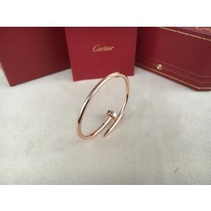 Cartier Juste un Clou 18K Rose Gold Bracelet Size 16