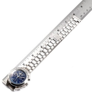 Omega Speedmaster 39mm Day-Date Blue Dial Mens Watch 3523.80.00