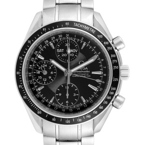 Omega Speedmaster Day-Date 40 Chronograph Watch 3220.50.00 Papers