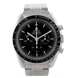 Omega Speedmaster 3573.50 Professional Black Dial Stainless Steel Mens Watch
