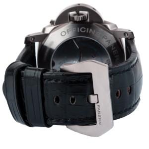 Panerai Luminor 1950 Left-Handed 8 Days Titanio Titanium & Leather 47mm Watch