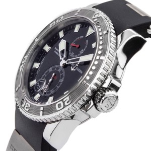 Ulysse Nardin Marine Diver 263-33-3/92 Stainless Steel 43mm Watch