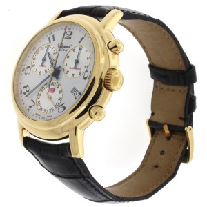 Chopard Mille Miglia 2250 Chronograph 18K Yellow Gold 39mm Mens Watch