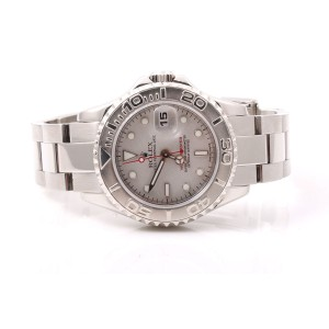 Rolex Yachtmaster 169622 Stainless Steel and Platinum 29mm Watch