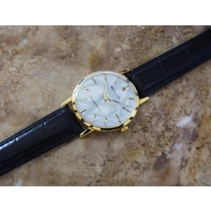 Citizen Ace Gold Plated Stainless Steel & Leather Manual 36mm Mens Watch 1960s