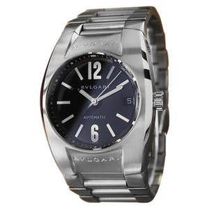 Bulgari Ergon Stainless Steel Black Dial Automatic 36mm Mens Watch