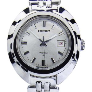 Seiko Stainless Steel Manual Vintage 26mm Womens Watch 1960s