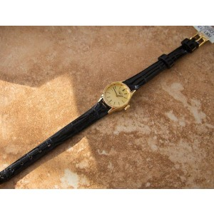 Longines Petite Gold-Plated Cocktail Dress 19mm Womens Watch 1980s
