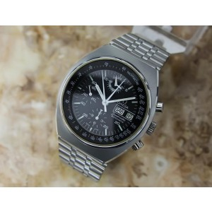 Omega Speedmaster 4.5 Vintage 42mm Mens Watch 1980s